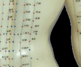 Los puntos de acupuntura