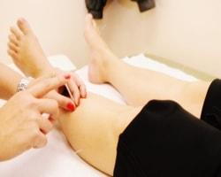 tratamiento agujas paciente